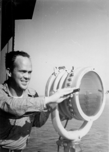 Willy Rule and a 12-inch signal light