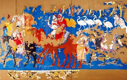 Sogdian paintings from Afrasiab