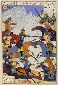 battle shahnameh